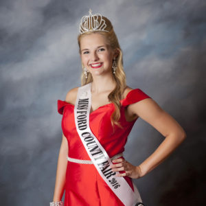 2016 Miss Ford County Fair Queen Audrey Bloomquist